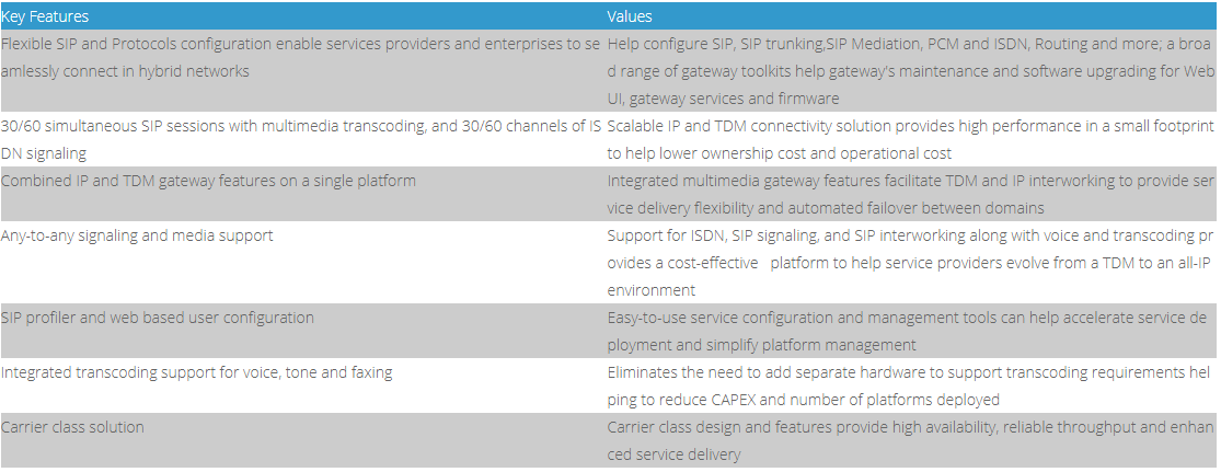 voip-gateway-synway-smg2030L-key-feature